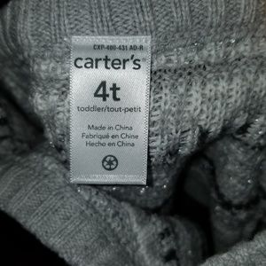 Carter's Dresses - NWT - Carter's Sweater Dress Size 4T